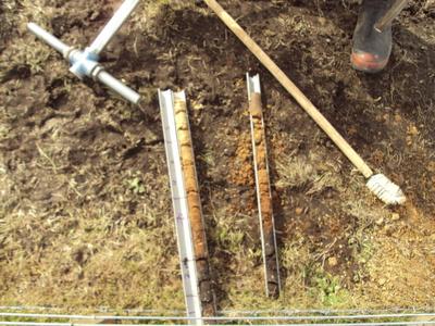 Highlight photo climate change legislation and new for 0200 soil core sampler